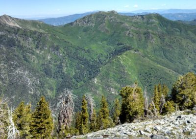 11 Mt Raymond and Gobblers Knob from the Summit