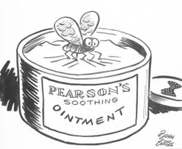 A Snag in the Ointment